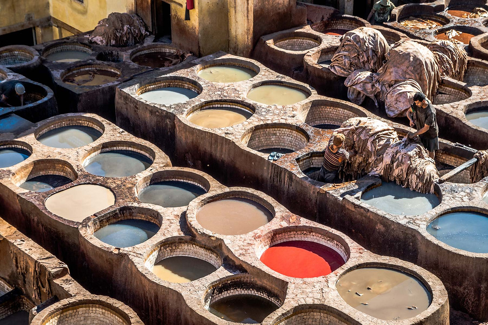 Tanneries de Chouara Médina de Fès