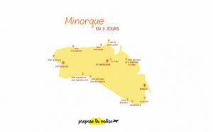 Minorque iles baléares Espagne