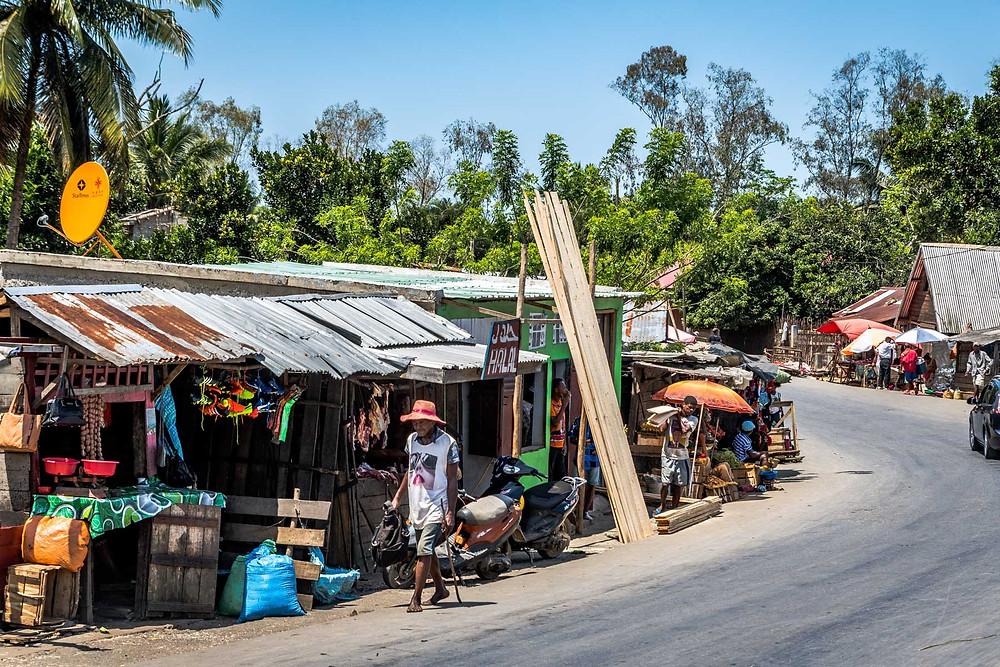 Marché à Madagascar
