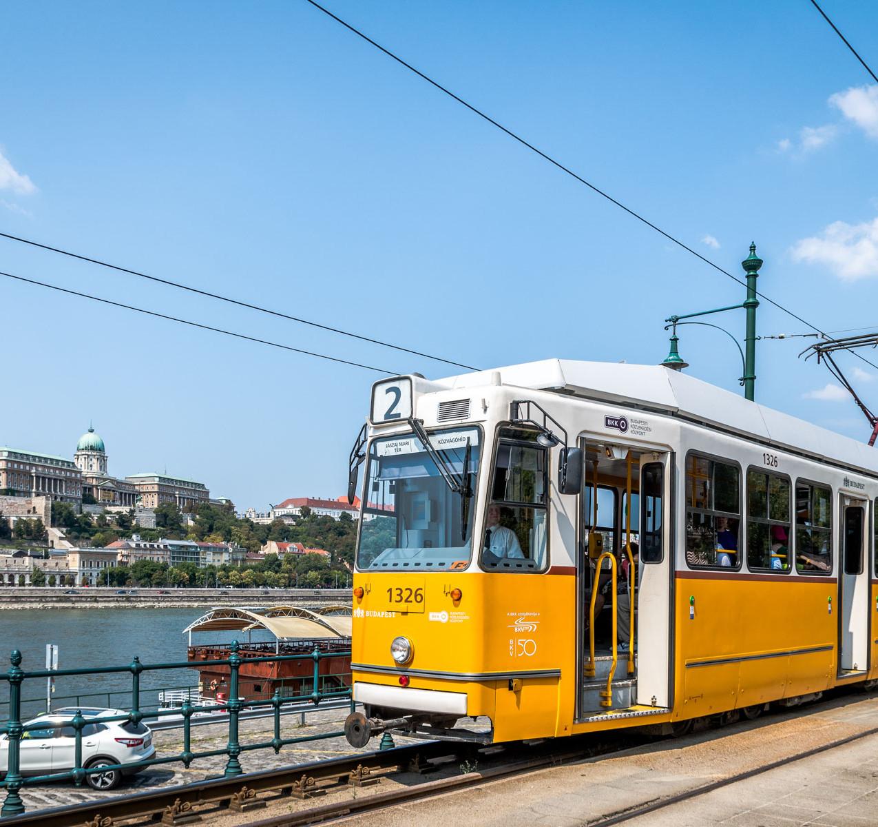 Tramway Danube Budapest