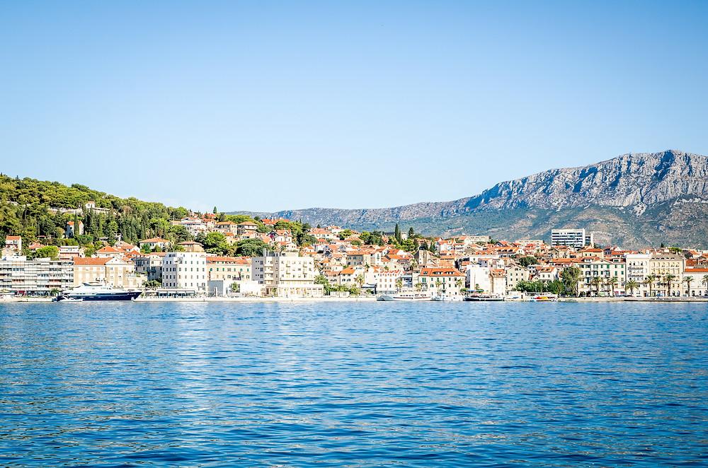 Embarquement à Split