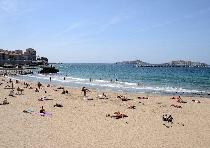 La Plage des Catalans Marseille