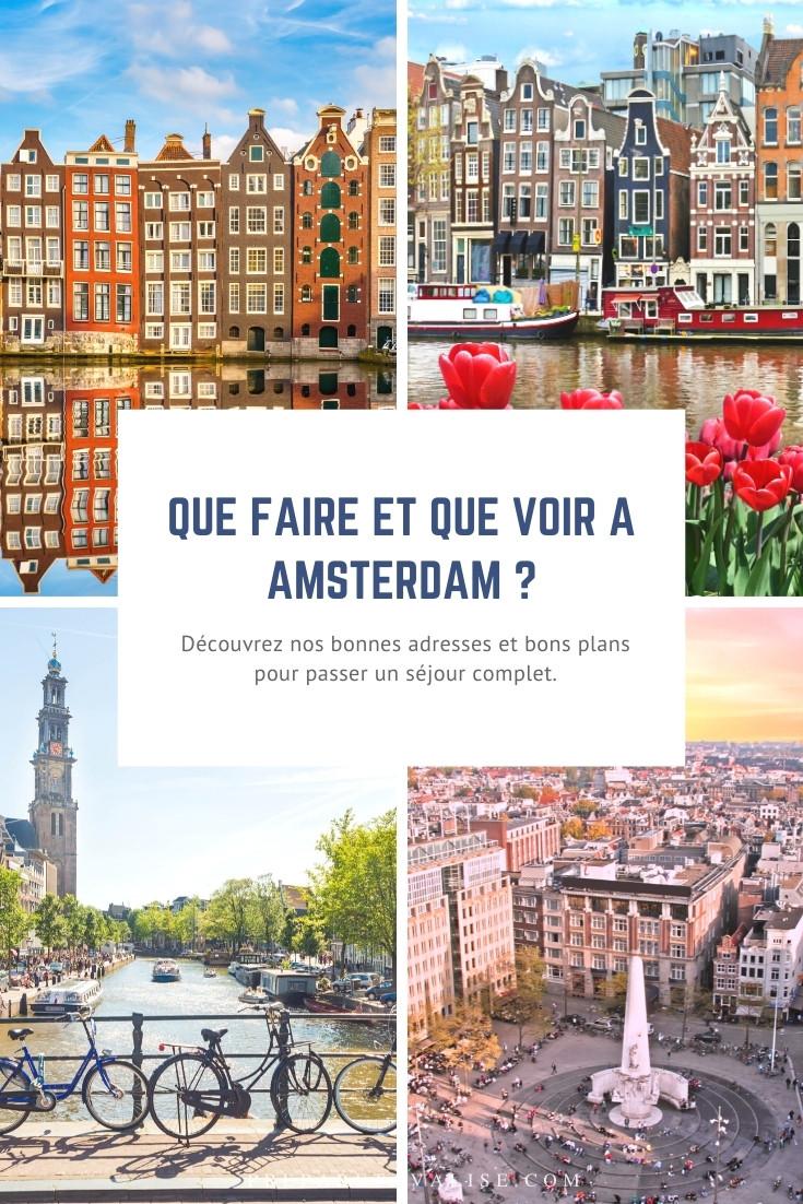 Que faire à Amsterdam