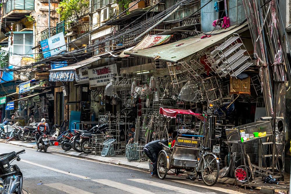 Rue Hang Can Hanoi Vietnam