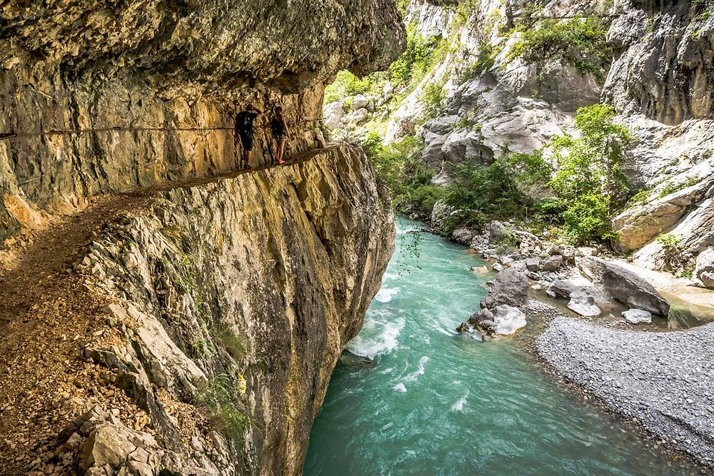 Sentier de l'Imbut, Gorges du Verdon