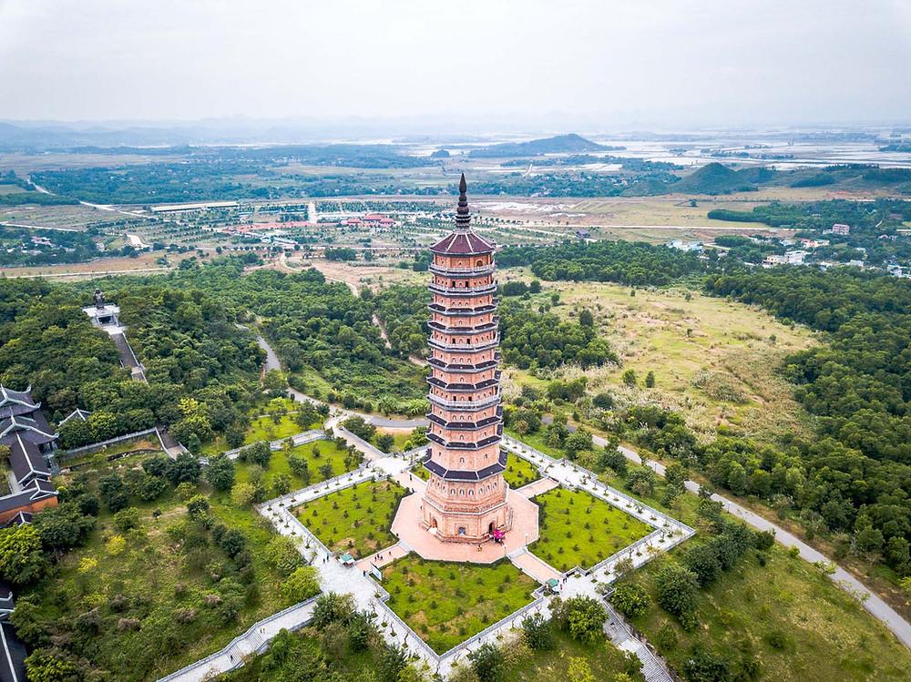 Pagode de Bai Dinh Ninh Binh Vietnam