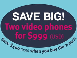 Video Phone 2-Pack Promo Offer - ends September 16, 2014