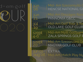 Indul a Mid-AmGolf Tour 2020