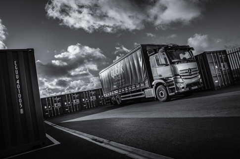 Mercedes lorry