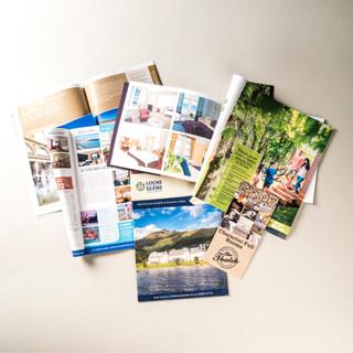 Holiday brochure photography