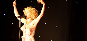 madonna tribute on stage