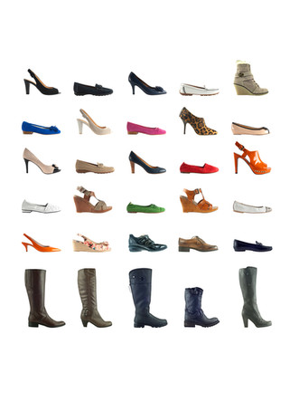 range of fashion shoes and boots