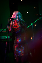 Toyah wilcox photographed on stage