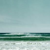 surf on cornish beach