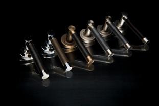 row of door handles