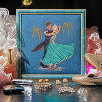 strictly come dancing cross stitch design
