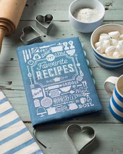 recipe bok on kitchen table