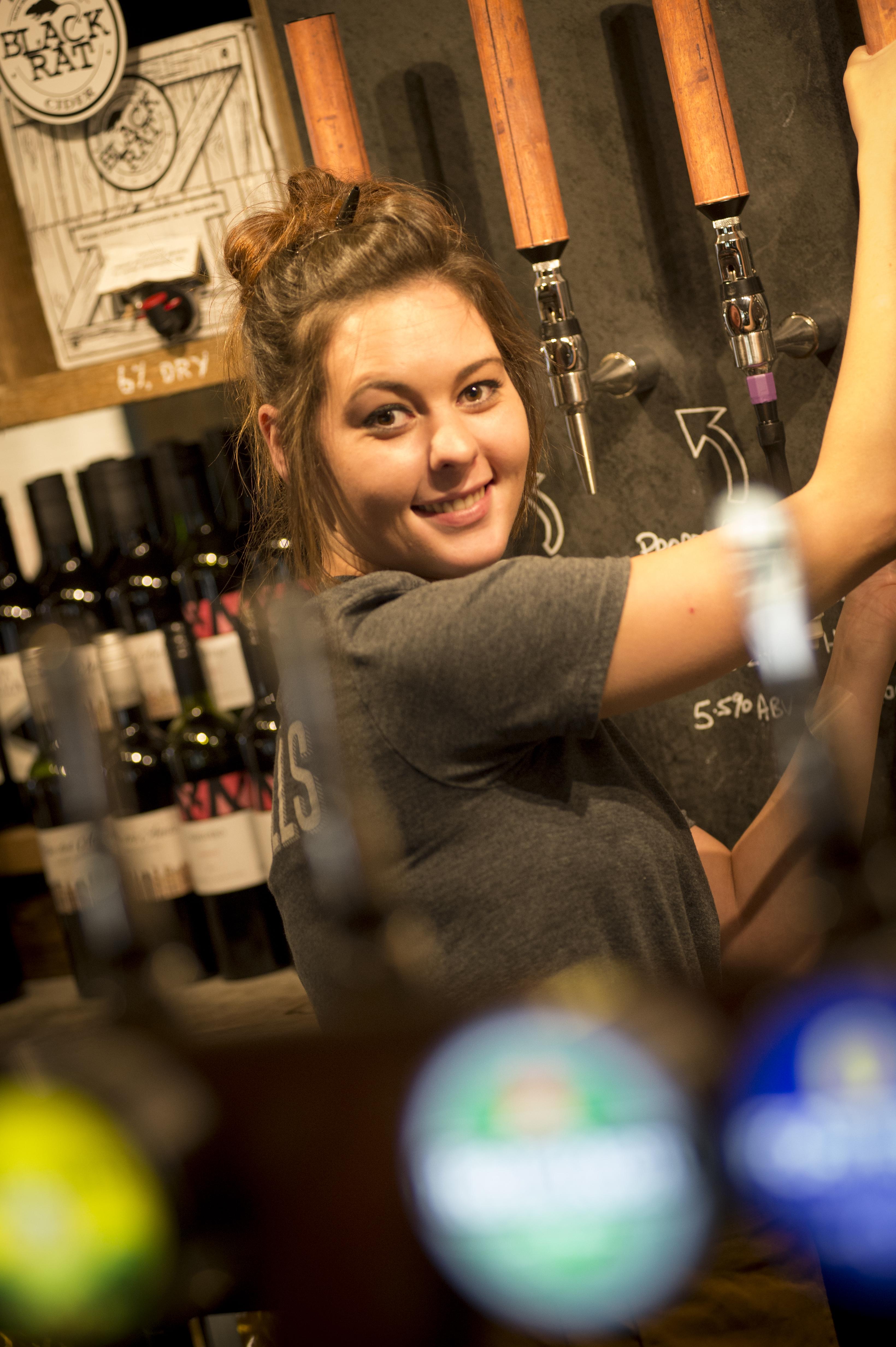Sawmills pub staff
