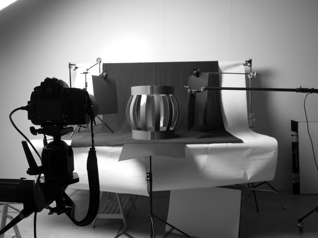 product photography in the studio
