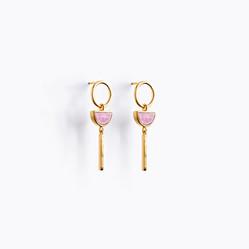 Sunburst drop earing pink rhodonite.jpg