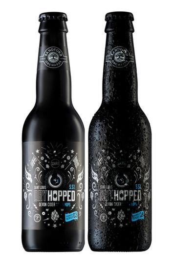 artisan cider bottles