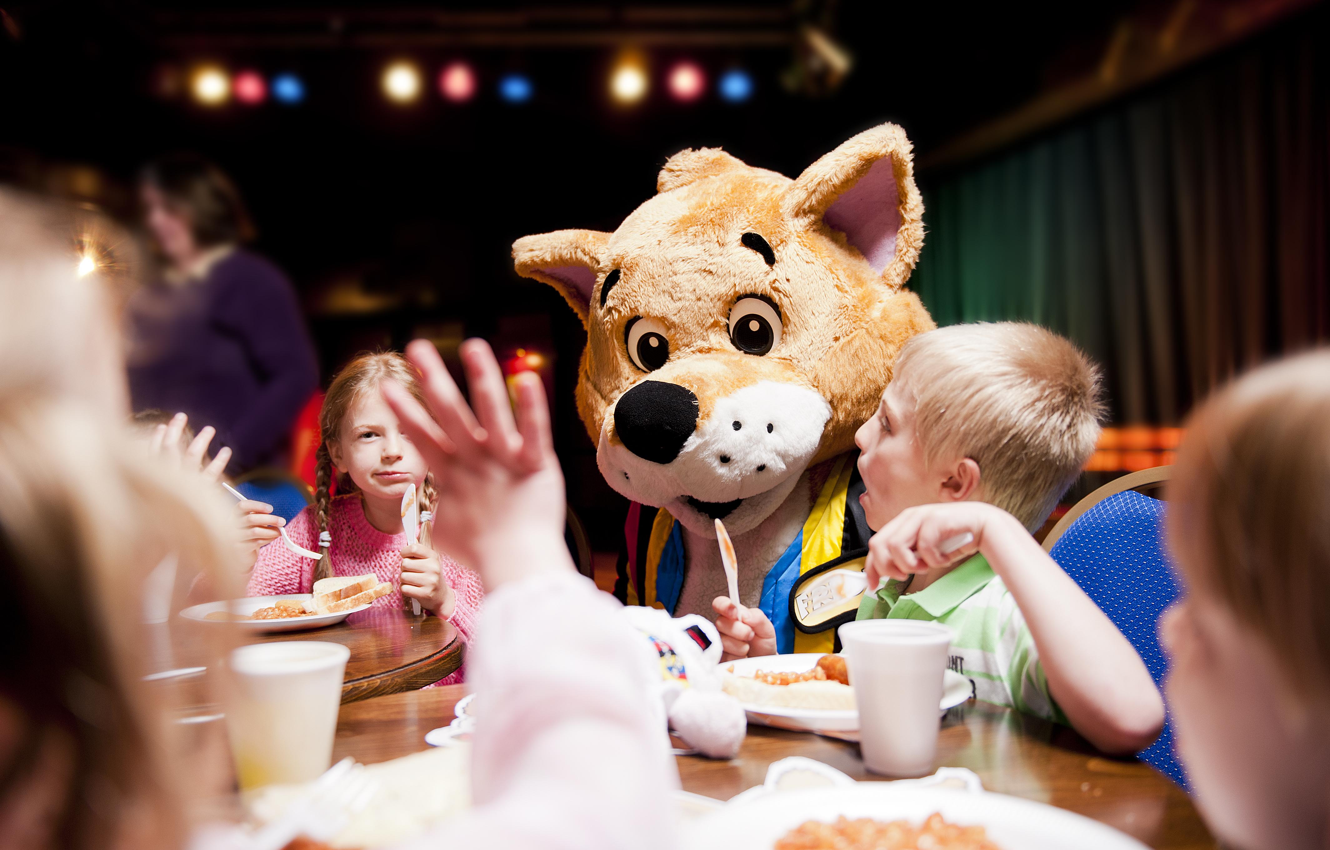 Kids breakfast party