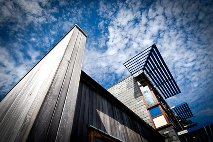 modern school architectural photography