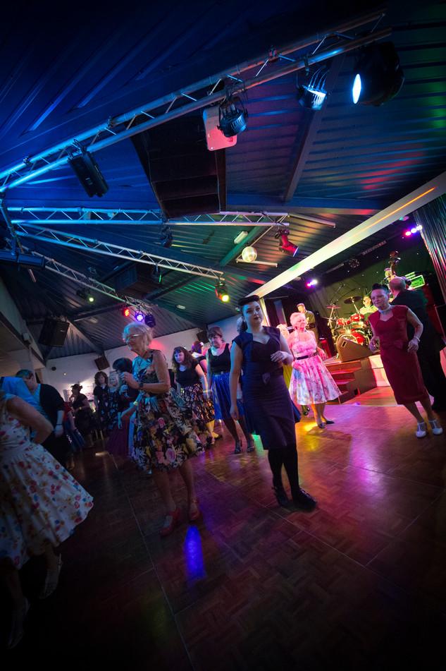 dance floor in club