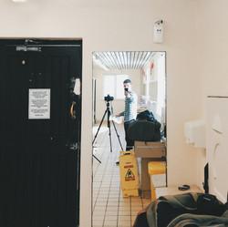 Campsite washroom