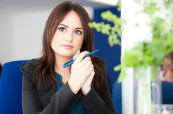 Back office girl