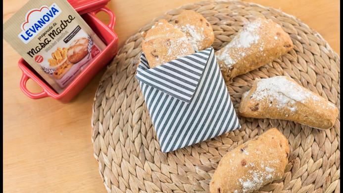 Receta de pan de cebolla con masa madre