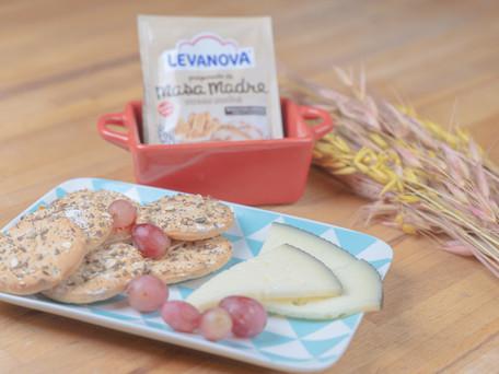 Deliciosos crackers caseros de semillas para picar… ¡una receta fácil, sencilla y deliciosa!