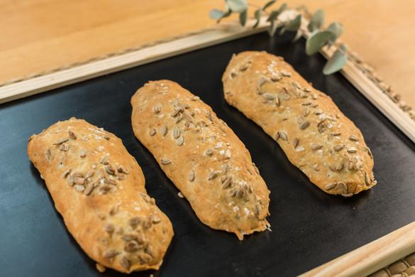 Receta pan de pipas- masa madre Levanova