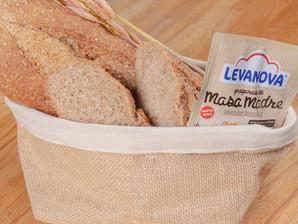 Receta de pan integral con preparado de masa madre