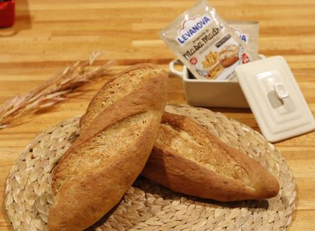 Receta de pan de ajo y romero
