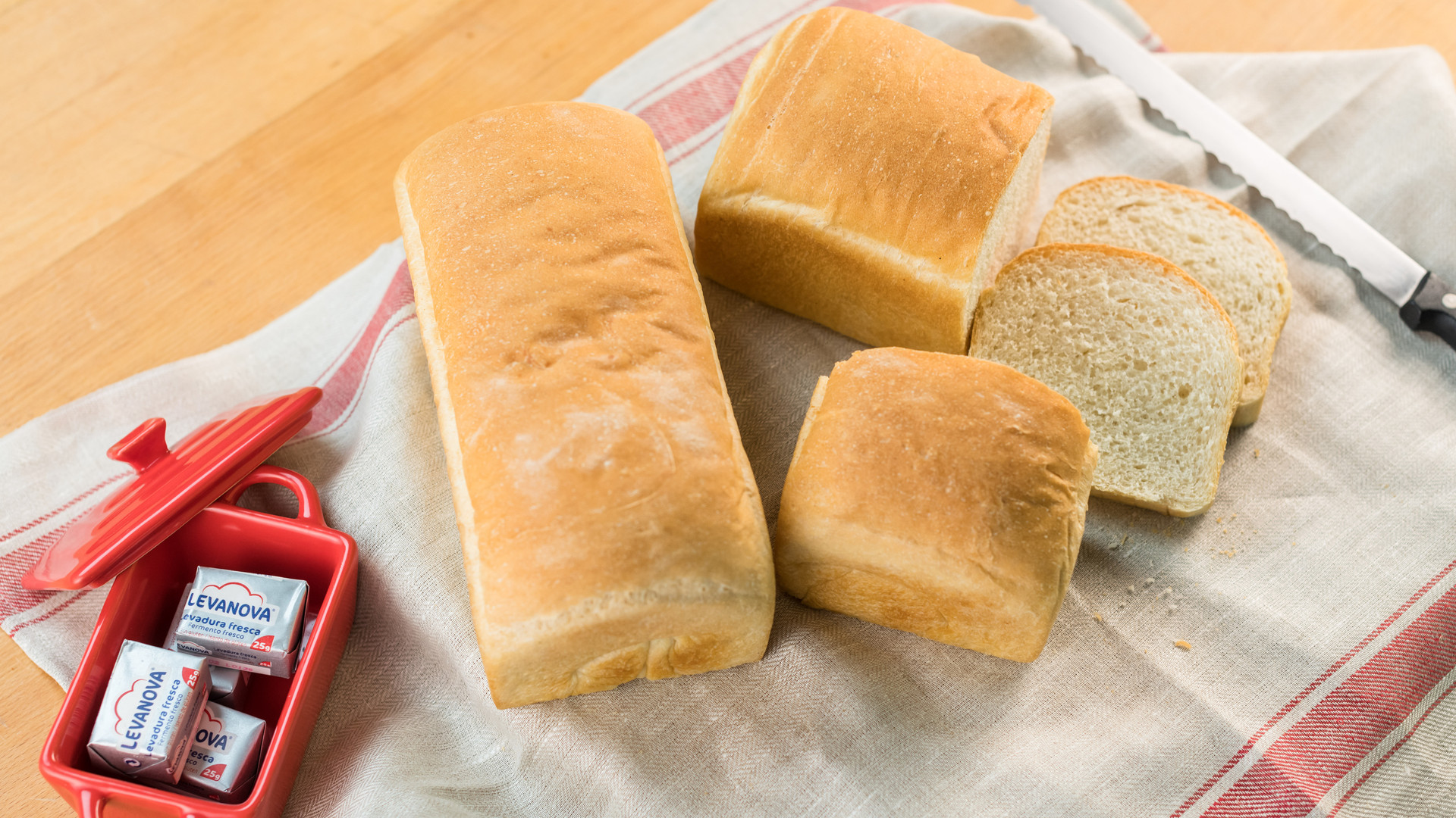 Pan de molde- Receta levanova