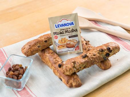 Barritas de pan con muesli, ¡una idea perfecta para el almuerzo o la merienda!