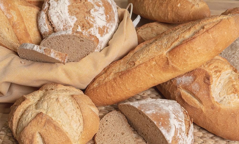 Receta para hacer pan sin gluten en casa