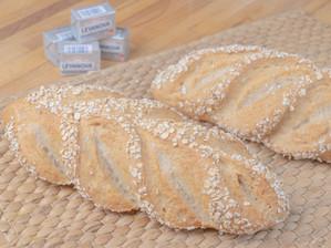 Receta de pan con avena