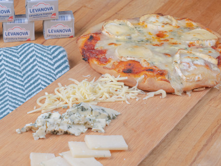 Pizza de cuatro quesos… ¿También es tu preferida? ¡Atentos!