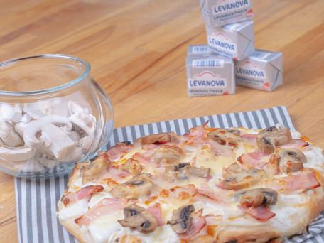 Pizza Carbonara, ¡la reina de las pizzas!