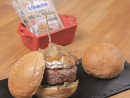 Receta para una deliciosa hamburguesa casera