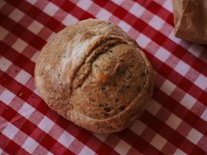 Receta para un delicioso pan de aceitunas negras y orégano
