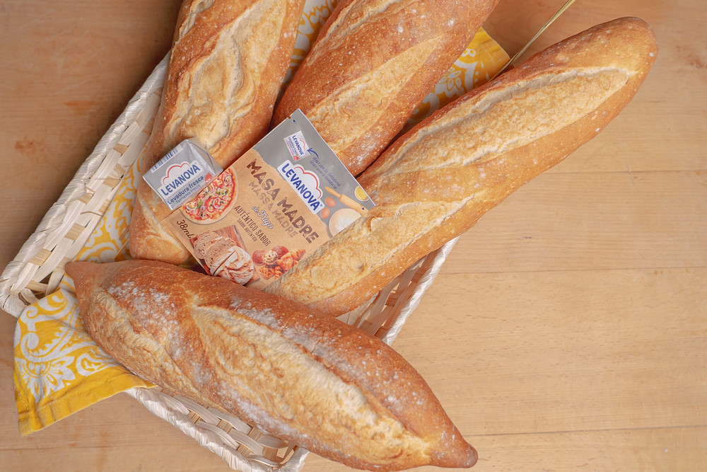 Receta para baguette francesa