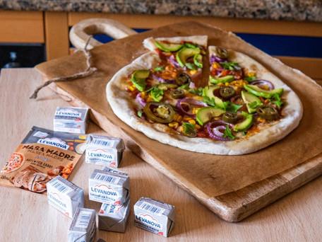 ¡#Rompemoldes con una pizza-burrito!