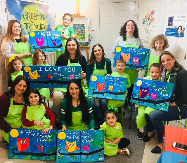 #mommyandme #paintnight