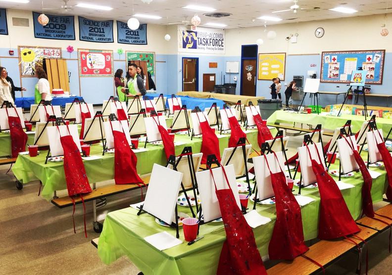 Bellerose Elementary School | 2nd Grade Paint Night