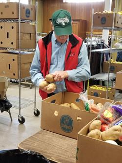 David sorting produce 2019