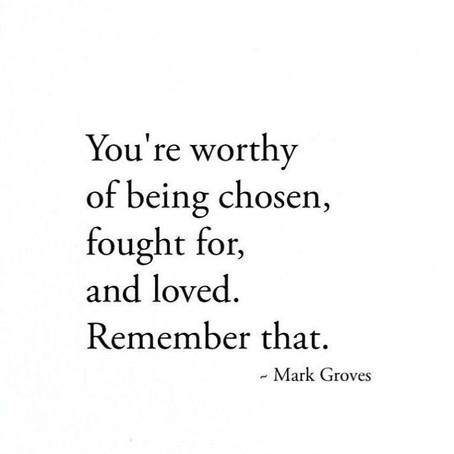 Being Chosen