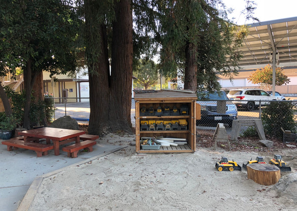 Picnic Table and Sand